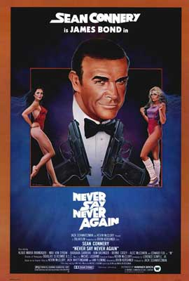 Never Say Never Again - 27 x 40 Movie Poster - Style B