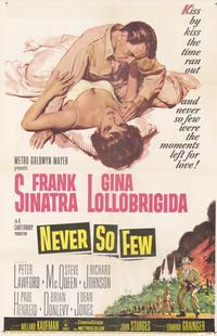Never So Few - 11 x 17 Movie Poster - Style A