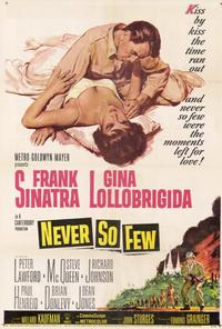 Never So Few - 27 x 40 Movie Poster - Style A
