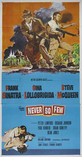Never So Few - 20 x 40 Movie Poster - Style A