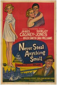 Never Steal Anything Small - 27 x 40 Movie Poster - Style C