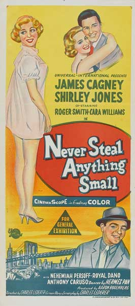 Never Steal Anything Small - 14 x 36 Movie Poster - Insert Style A