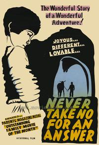 Never Take No For An Answer - 27 x 40 Movie Poster - Style A