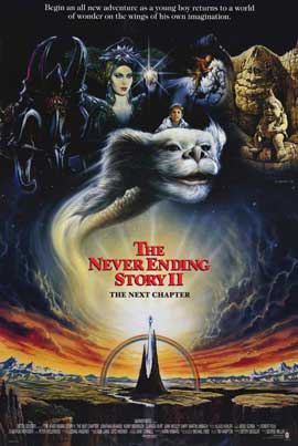 NeverEnding Story 2: The Next Chapter - 11 x 17 Movie Poster - Style B