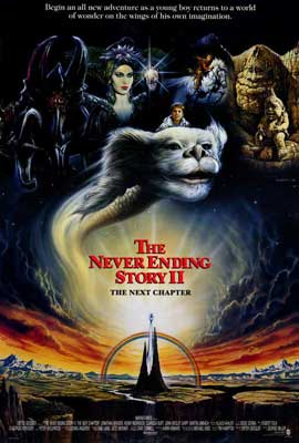 NeverEnding Story 2: The Next Chapter - 27 x 40 Movie Poster - Style B