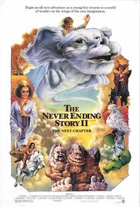 NeverEnding Story 2: The Next Chapter - 43 x 62 Movie Poster - Bus Shelter Style A