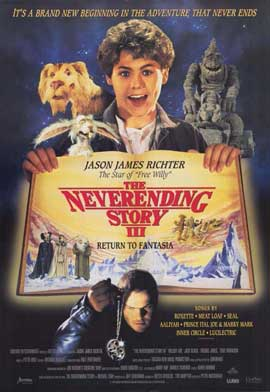 The NeverEnding Story 3: Escape from Fantasia - 11 x 17 Movie Poster - Style A