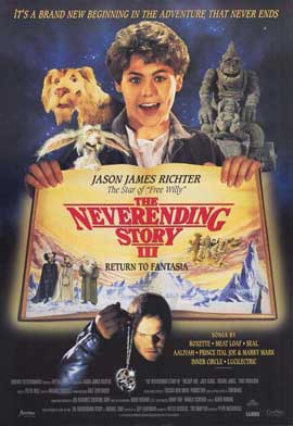 The NeverEnding Story 3: Escape from Fantasia - 27 x 40 Movie Poster - Style A