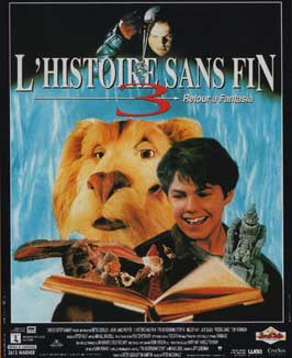 The NeverEnding Story 3: Escape from Fantasia - 11 x 17 Movie Poster - French Style A