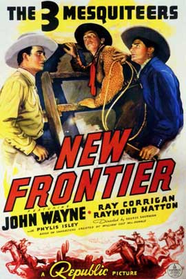 New Frontier - 11 x 17 Movie Poster - Style A