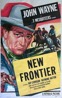 New Frontier - 11 x 17 Movie Poster - Style B