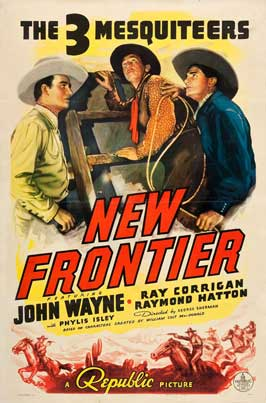 New Frontier - 11 x 17 Movie Poster - Style C