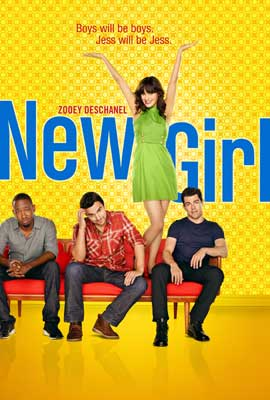 New Girl - 27 x 40 TV Poster - Style D