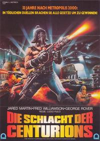 The New Gladiators - 27 x 40 Movie Poster - German Style A