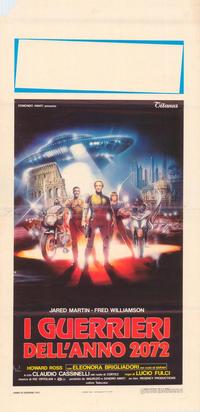 The New Gladiators - 14 x 36 Movie Poster - Insert Style A
