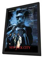 New Jack City - 27 x 40 Movie Poster - Style B - in Deluxe Wood Frame