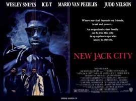 New Jack City - 11 x 17 Movie Poster - Style B