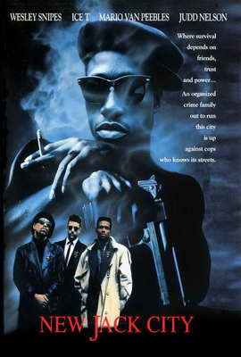 New Jack City - 27 x 40 Movie Poster - Style B