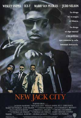New Jack City - 11 x 17 Movie Poster - Spanish Style A
