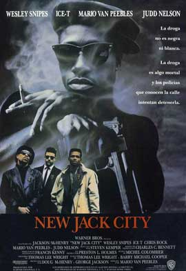 New Jack City - 27 x 40 Movie Poster - Spanish Style A