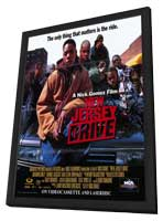 New Jersey Drive - 11 x 17 Movie Poster - Style B - in Deluxe Wood Frame