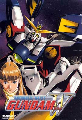 New Mobile Report Gundam W (TV) - 11 x 17 TV Poster - Style B