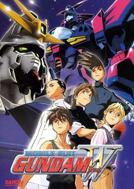New Mobile Report Gundam W (TV) - 11 x 17 TV Poster - Style C