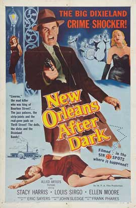 New Orleans After Dark - 27 x 40 Movie Poster - Style A