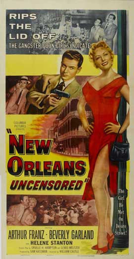 New Orleans Uncensored - 20 x 40 Movie Poster - Style A