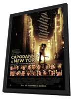 New Year's Eve - 11 x 17 Movie Poster - Italian Style A - in Deluxe Wood Frame