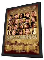 New Year's Eve - 11 x 17 Movie Poster - Style B - in Deluxe Wood Frame