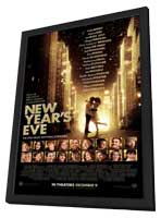 New Year's Eve - 11 x 17 Movie Poster - Style C - in Deluxe Wood Frame