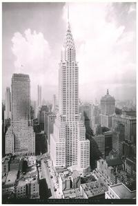 New York City - Art Poster - 24 x 36 - Style D