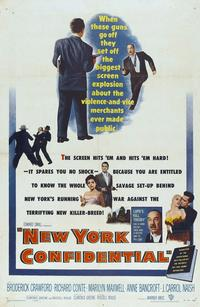 New York Confidential - 11 x 17 Movie Poster - Style A