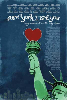 New York, I Love You - 27 x 40 Movie Poster - Style A