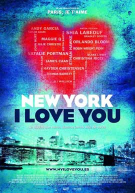 New York, I Love You - 11 x 17 Movie Poster - Spanish Style A