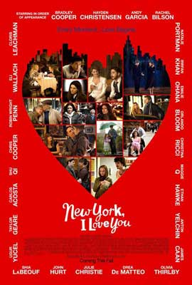 New York, I Love You - 11 x 17 Movie Poster - Style B