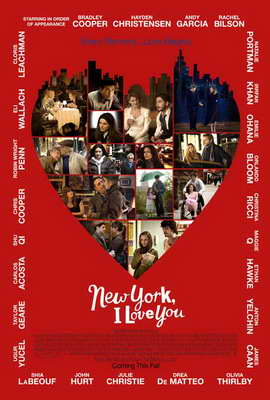 New York, I Love You - 27 x 40 Movie Poster - Style B