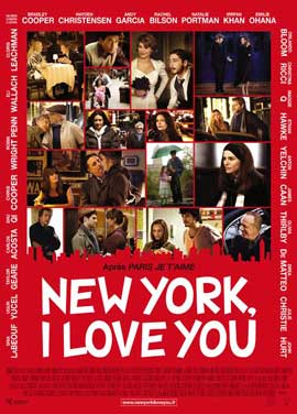 New york i love you 11 x 17 movie poster french style a