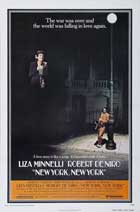 New York, New York - 27 x 40 Movie Poster - Style B