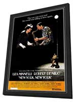 New York, New York - 11 x 17 Movie Poster - Style A - in Deluxe Wood Frame