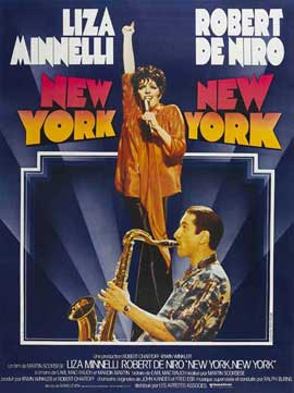 New York, New York - 27 x 40 Movie Poster - French Style A