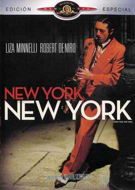 New York, New York - 11 x 17 Movie Poster - Spanish Style A