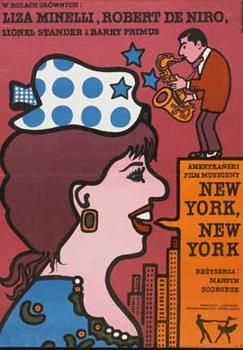 New York, New York - 11 x 17 Movie Poster - Polish Style A