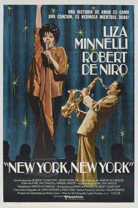 New York, New York - 11 x 17 Movie Poster - Spanish Style B