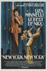 New York, New York - 27 x 40 Movie Poster - Spanish Style B