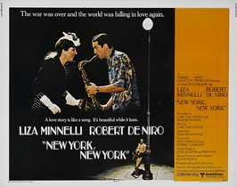 New York, New York - 22 x 28 Movie Poster - Half Sheet Style A