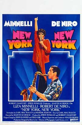 New York, New York - 27 x 40 Movie Poster - Belgian Style A