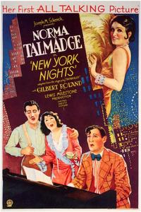 New York Nights - 11 x 17 Movie Poster - Style A