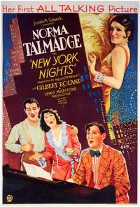 New York Nights - 27 x 40 Movie Poster - Style A